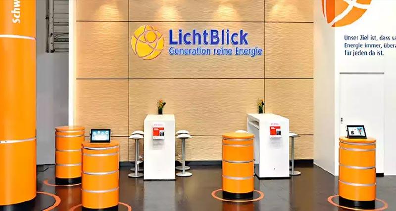 德国能源公司 LichtBlick 启用轻盈现代的新LOGO