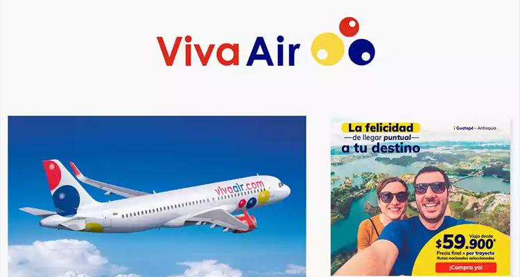 哥伦比亚愉快航空 Viva Air 启用新LOGO,四个字母三个回旋镖!